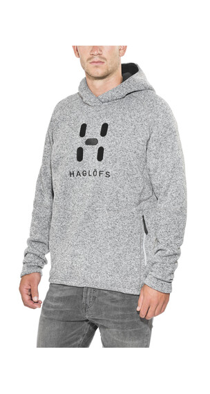 Haglöfs Swook Logo Hood Men concrete